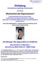 Fulda Einladung Mutmachen bei Depressionen