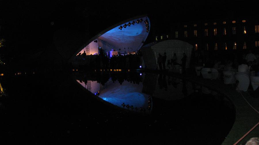 Bühne Sommerfest 2011 Schloss Bellevue