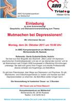 Einladung AWO Weser-EmsRastede