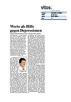 Worte als Hilfe gegen Depressionen - Gerda Gutberlet-Zerbe will mit Lesungen Mut machen