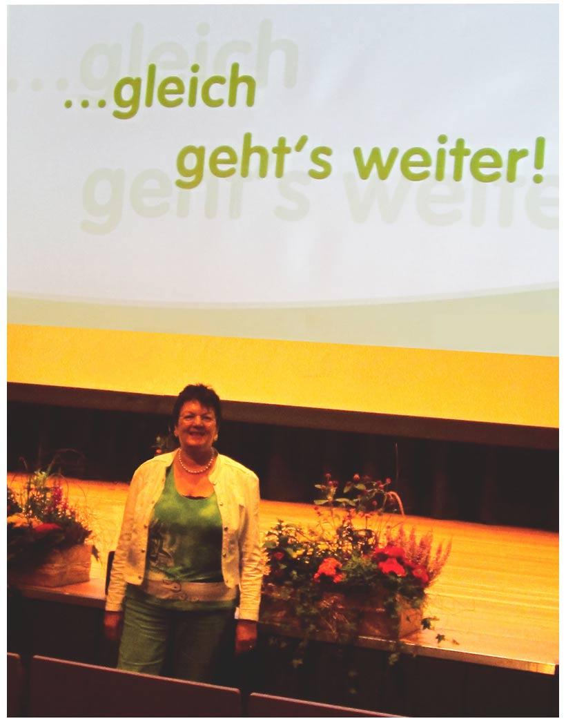 Gerda Gutberlet-Zerbe Vortrag in Hildesheim
