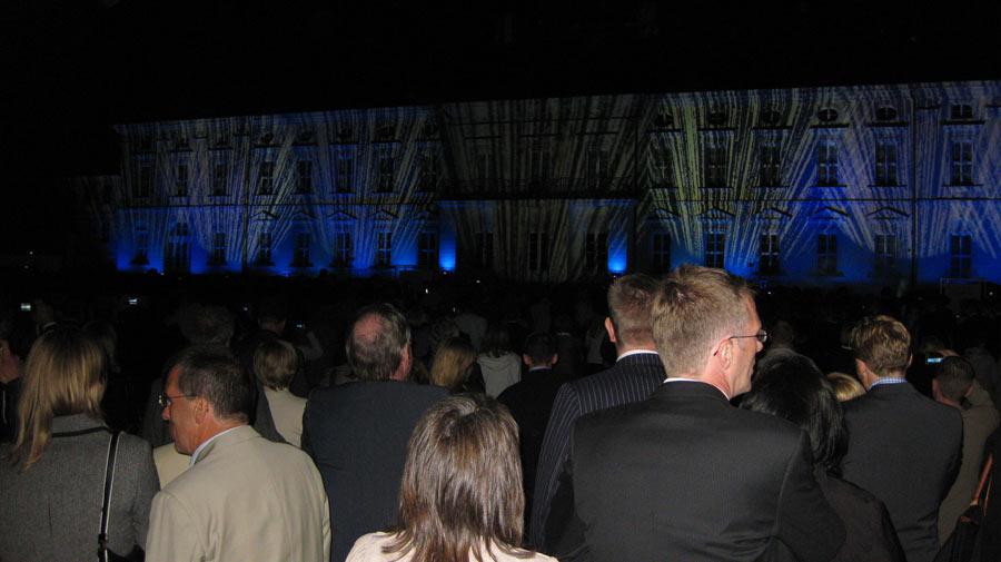 Abendstimmung Sommerfest Schloss Bellevue 2011