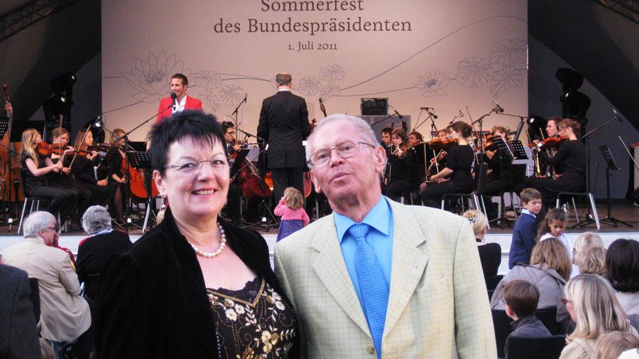 Gerda Gutberlet-Zerbe und Ehemann Willi